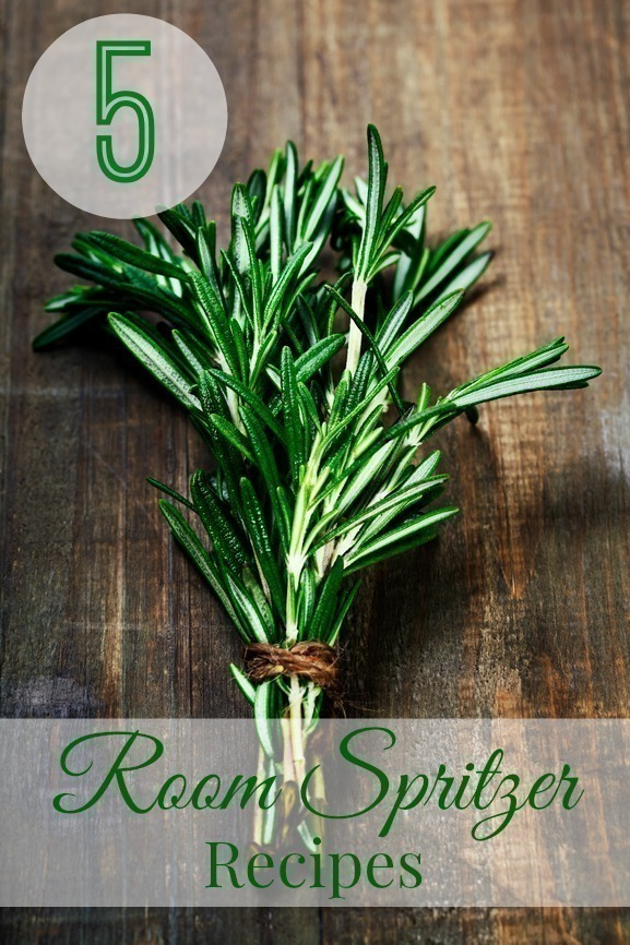 5 Essential Oil Room Spray Recipes