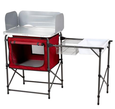 Walmart Ozark Trail Deluxe Camp Kitchen And Sink Table