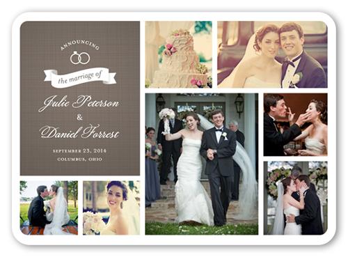 Shutterfly: 5 FREE Custom Photo Wedding Invitations {Just Pay Shipping}