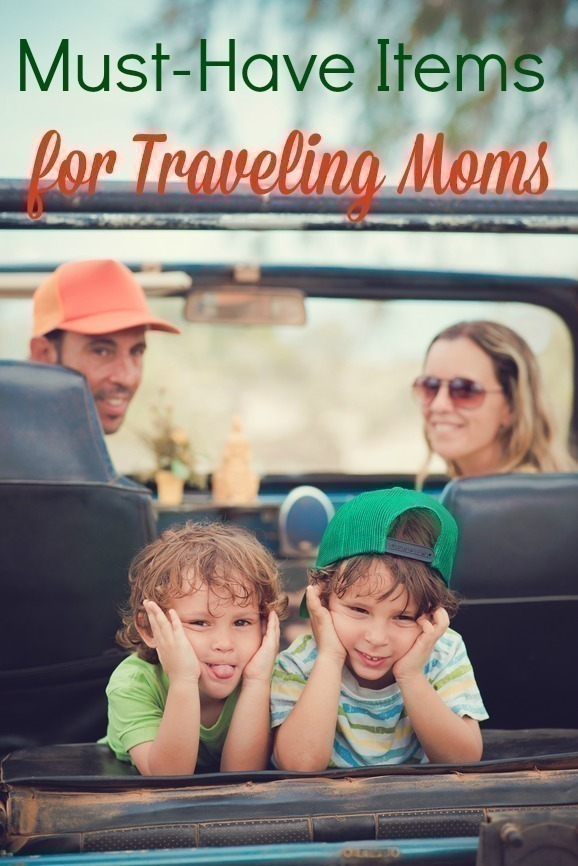 Must Have Items for Traveling Moms