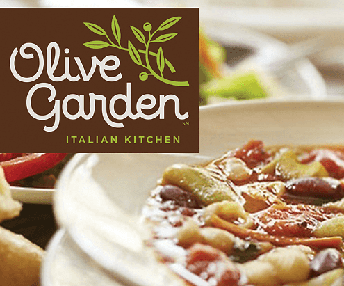 Olive Garden Up To 20 Off Your Purchase Through June 14th