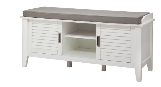 Target Threshold Storage Bench with Slatted Doors just 108