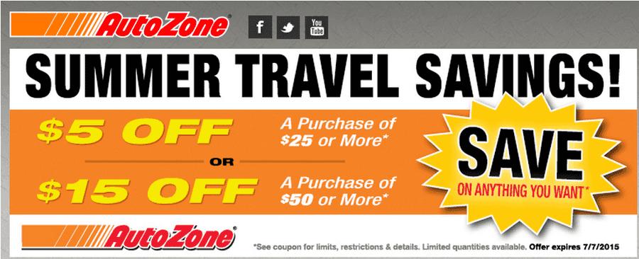Autozone specials coupons