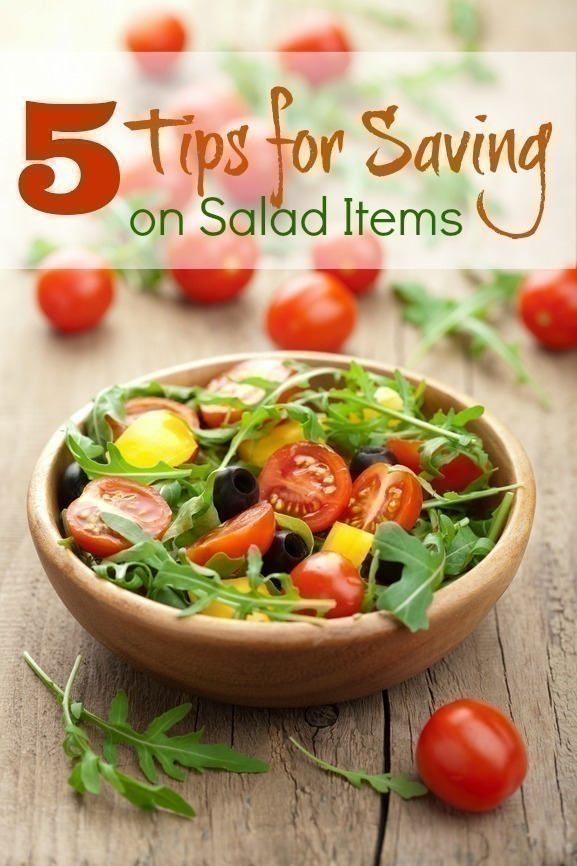 5 Tips for Saving on Salad Items + Easy Summer Salad Recipes