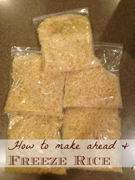 How to Make & Freeze Rice to Save Money on Meals