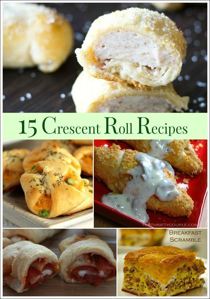 15 Easy & Delicious Crescent Roll Recipes