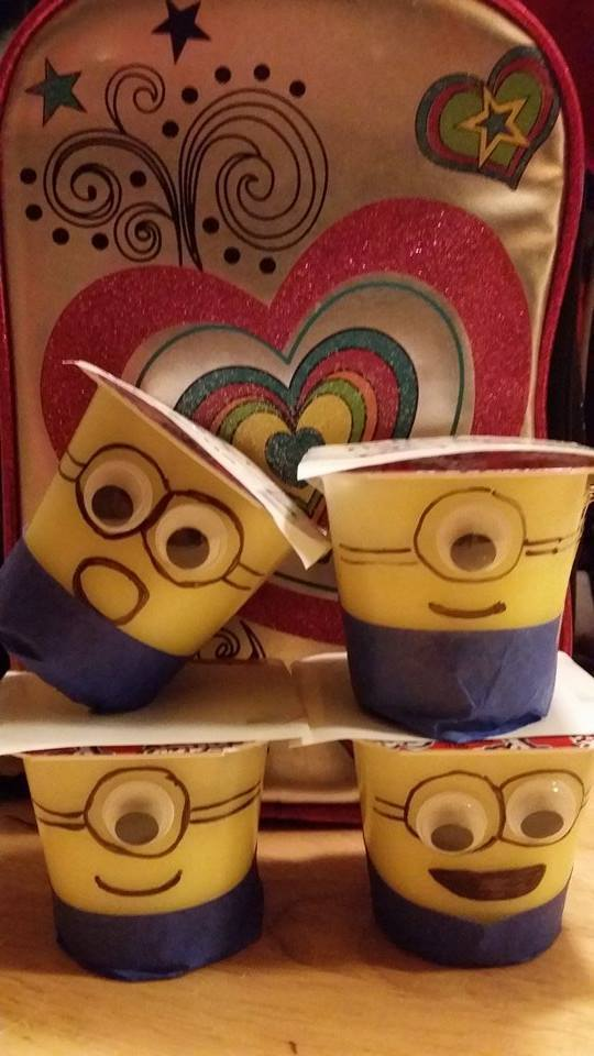 Minions for the Lunchbox