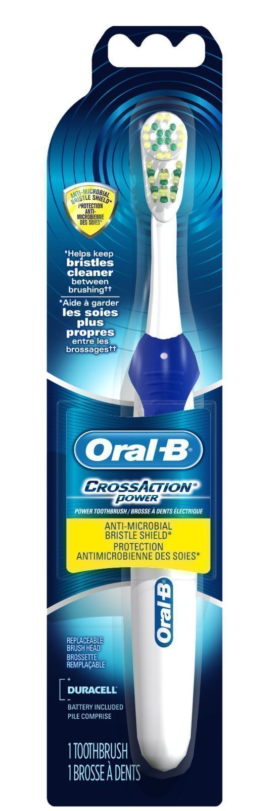 cvs  oral b cross action power toothbrush   49