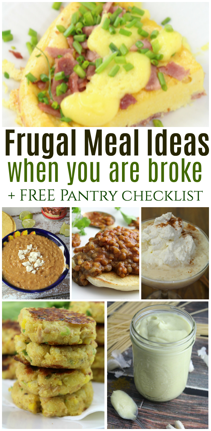 Find these frugal meal ideas to help you plan meals quickly and easily without spending large amounts of money on fast food or unhealthy restaurant choices.