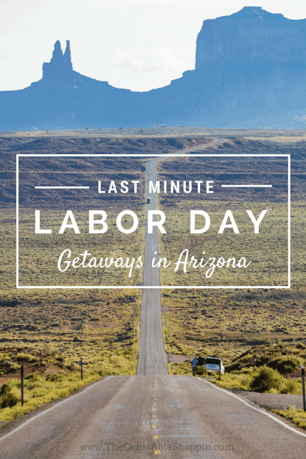 Looking to get out of town and enjoy some family time this Labor Day? Here are 5 last minute Labor Day getaways in Arizona.