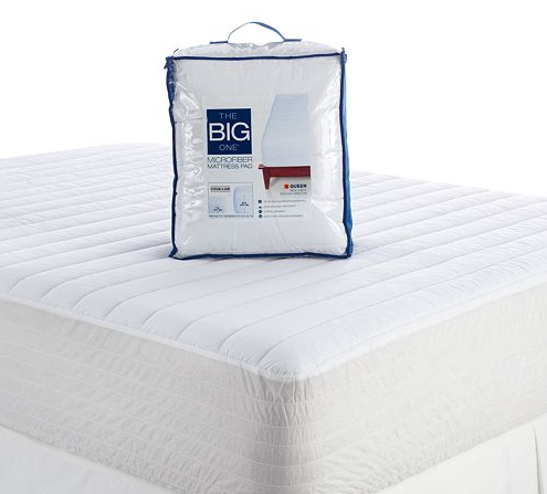 kohl s queen mattress pad pillow just 18 free pick up. Black Bedroom Furniture Sets. Home Design Ideas