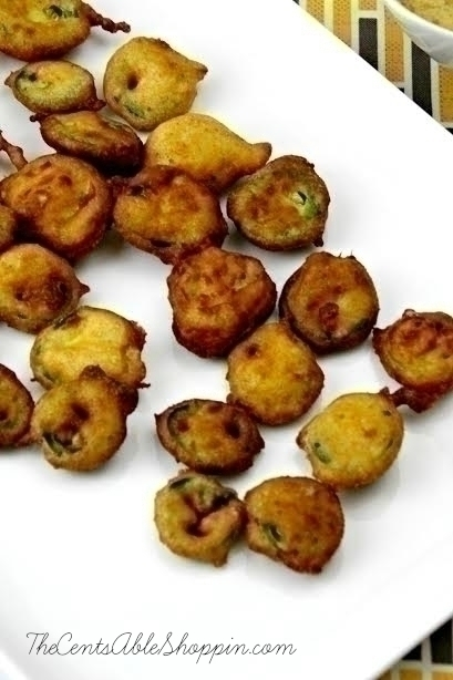 Deep Fried Jalapeño Slices