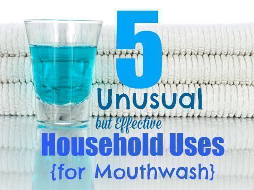 5 unusual but effective household uses for mouthwash - Unusual uses for mouthwash ...
