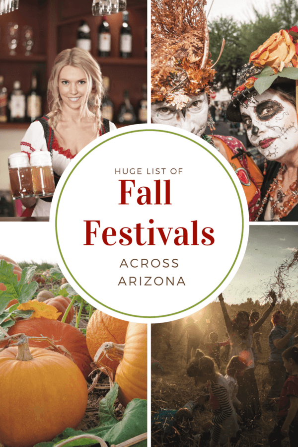 Huge List of Fall Festivals Across Arizona