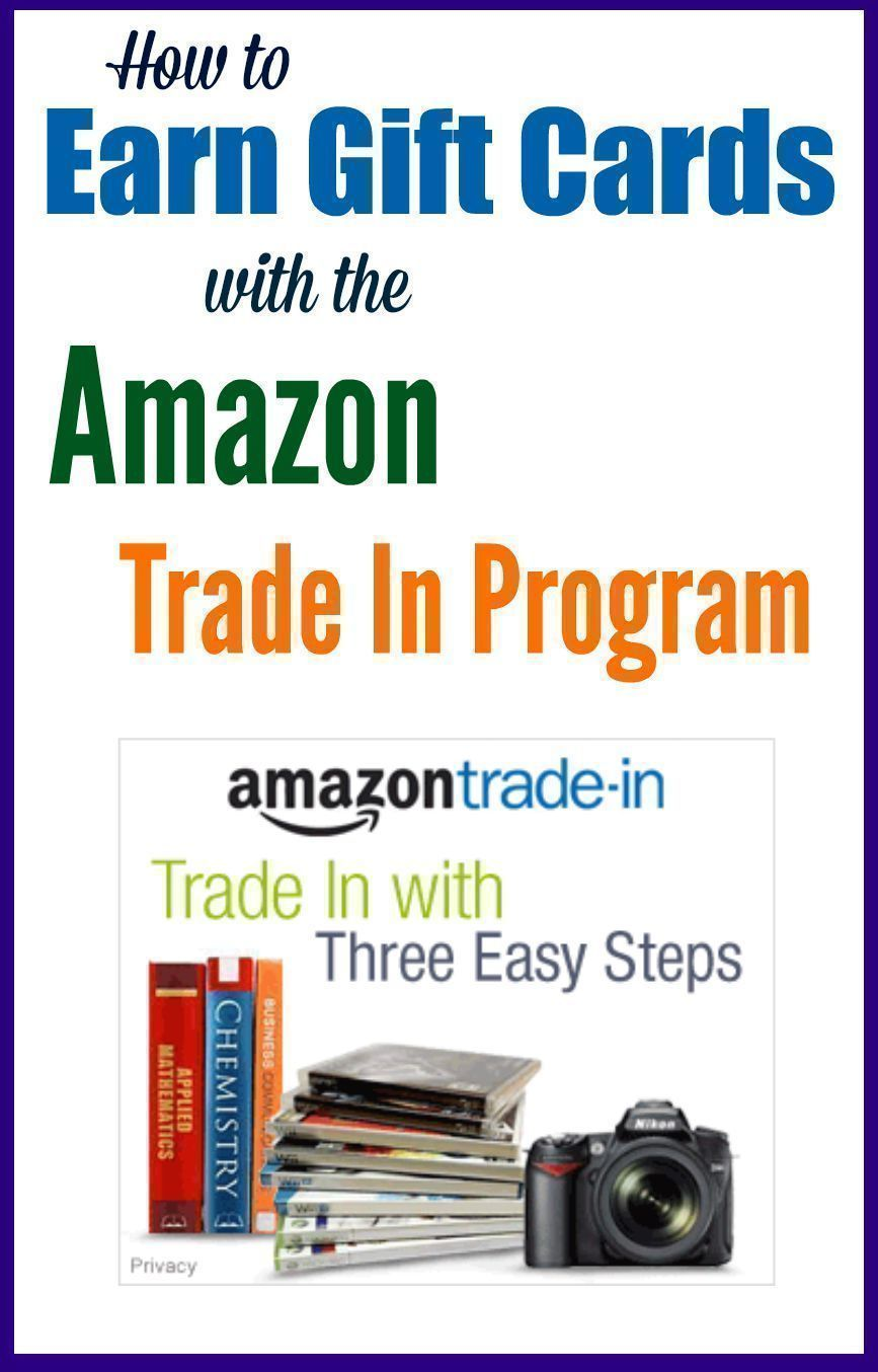 how to earn gift cards with the amazon trade in program. Black Bedroom Furniture Sets. Home Design Ideas