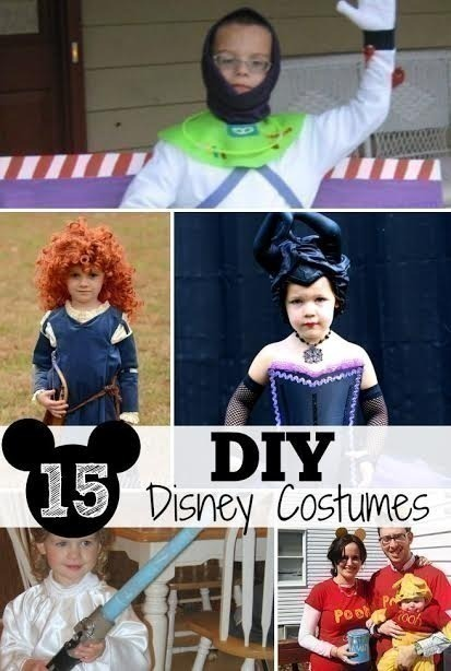 15 DIY Disney Costumes for Halloween