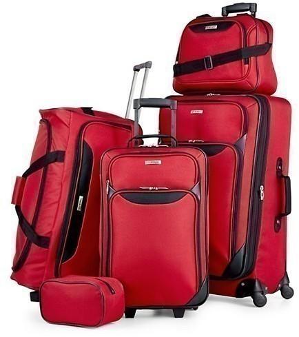 Macy's: Tag Springfield III 5 Piece Luggage Set just $57