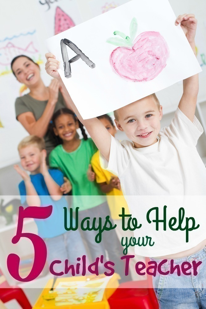 5 Easy Ways to Help Support your Child's Teacher
