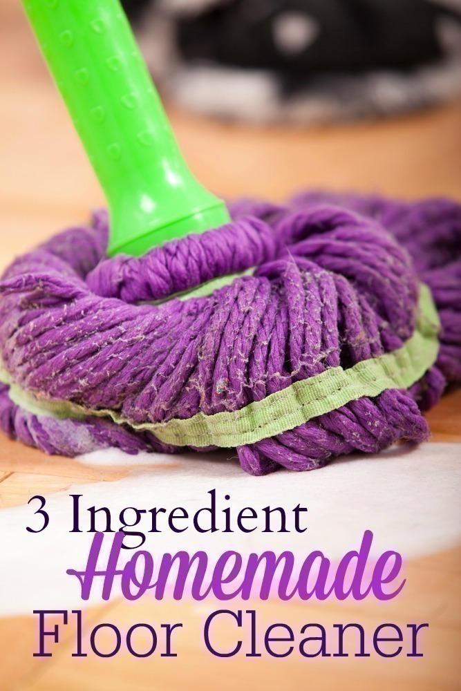 Easy 3 Ingredient Simple Floor Cleaner