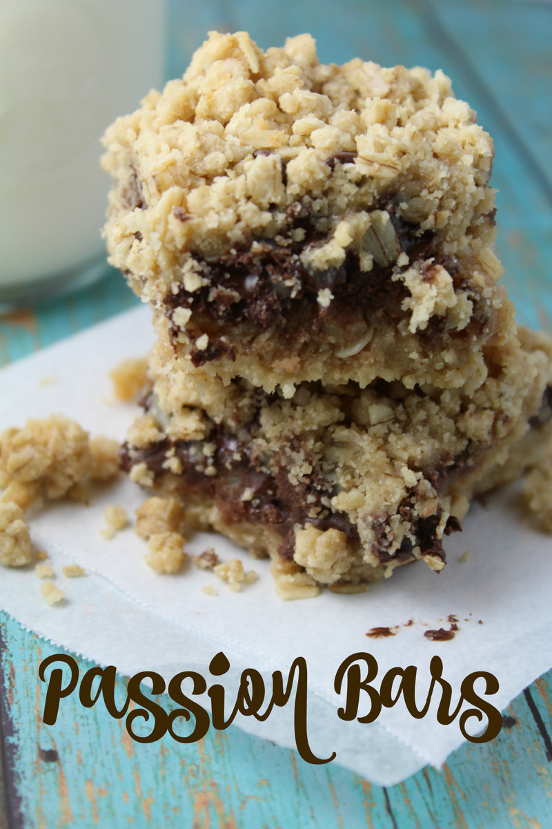 Peanut Butter Passion Bars