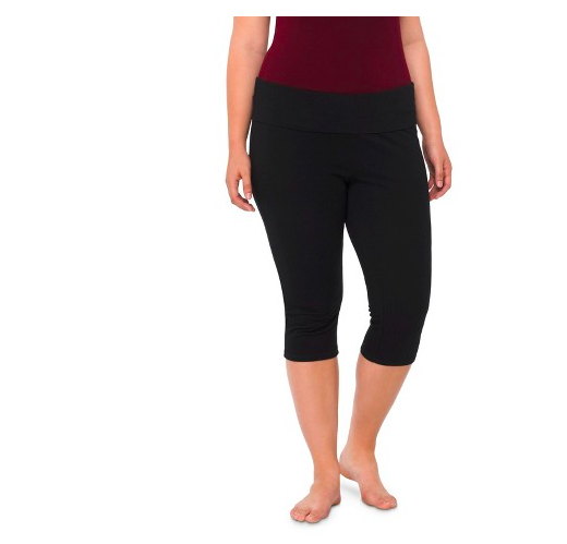 Target: Mossimo Plus Size Capri Yoga Pants ONLY $5.00
