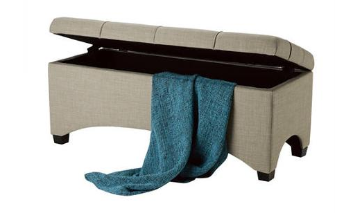 Better Homes And Gardens Pintucked Storage Bench Just 31