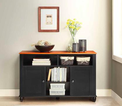 Walmart Better Homes And Gardens Autumn Lane Black Buffet