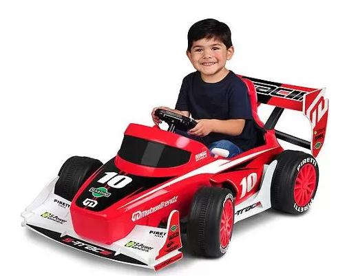 Walmart: MotionTrendz F1 Racer 6-Volt Battery-Powered Ride