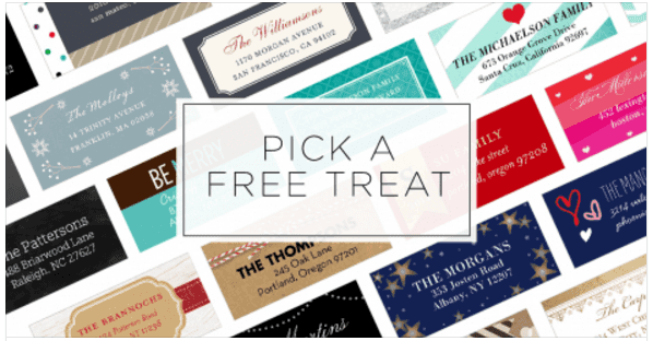 Shutterfly: FREE Set of Custom Address Labels or $10 off ANY Purchase (Ends Tonight)