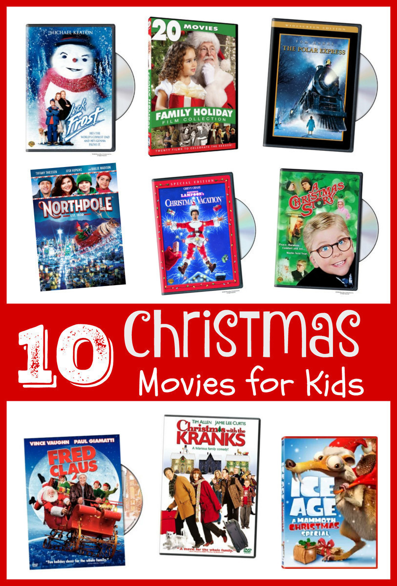 10 Christmas DVDs For Kids