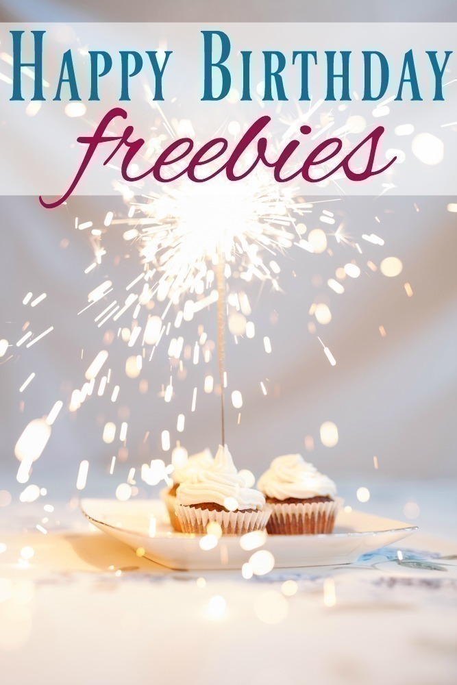 Happy Birthday Freebies