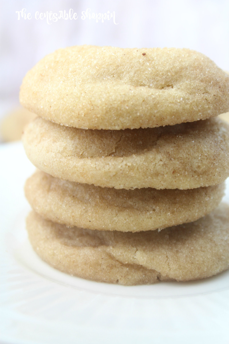 More Snickerdoodle Cookies