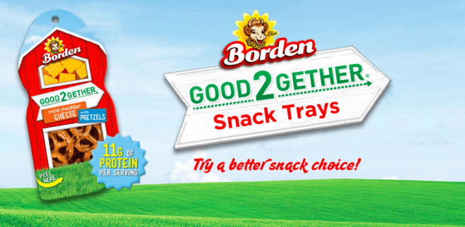 NEW Borden Good2Gether Snack Tray Rebate (+ Additional Savings Opportunity)
