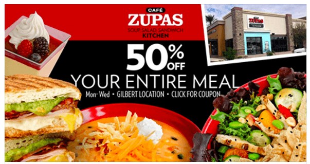 Zupas coupons