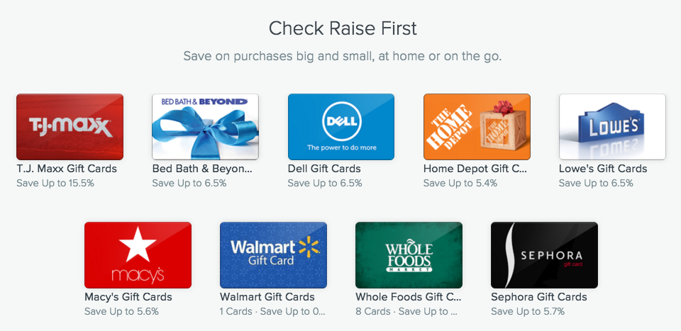 Raise.com: USD10 OFF USD20 or More in Target Gift Cards (NEW Customers ...