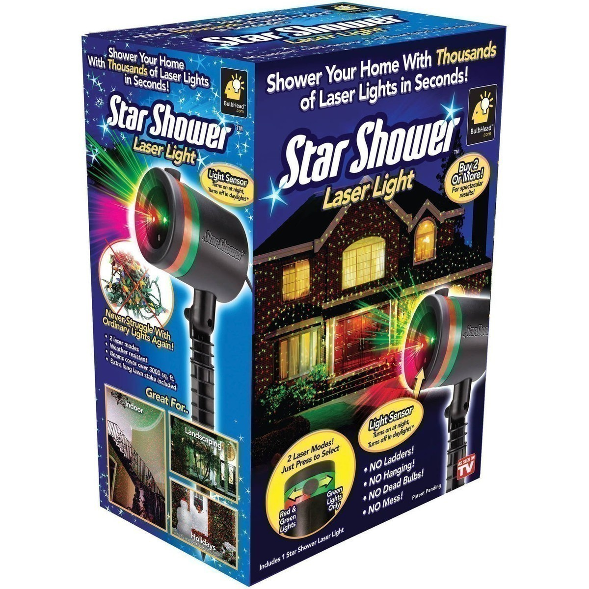 Amazon: Star Shower Star Shower Outdoor Laser Christmas