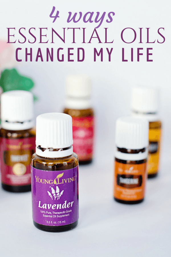 Essential Oils have had a profound effect on my family this past 3 years - here are four ways they have changed our life.