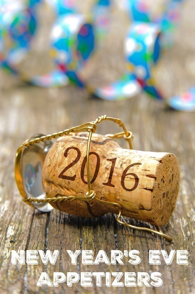 Happy new year 2016 with champagne cork at party