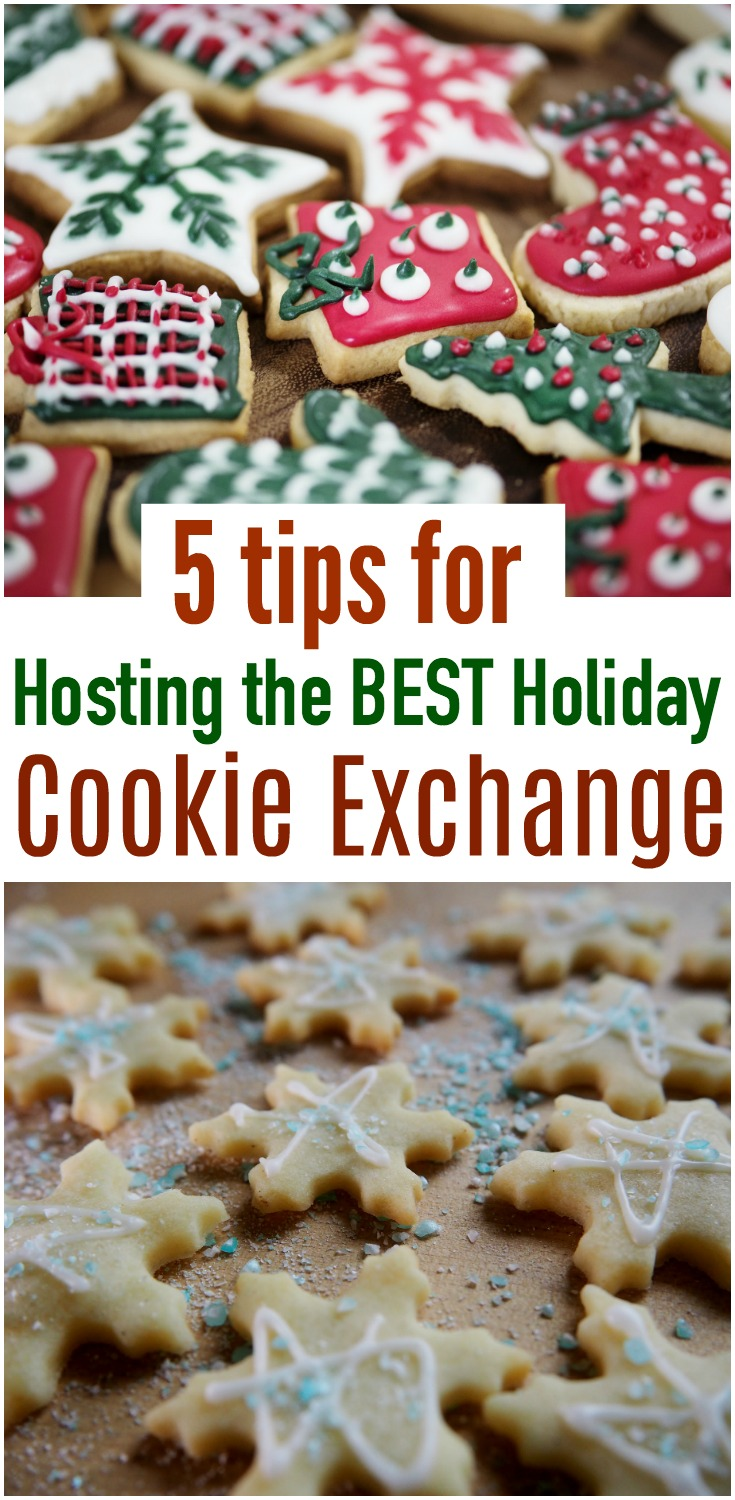 A cookie exchange is a perfect opportunity to get together with friends and family at the holidays. Here are 5 tips to help you throw the BEST holiday cookie exchange! #cookie #cookieexchange #holidays #christmas