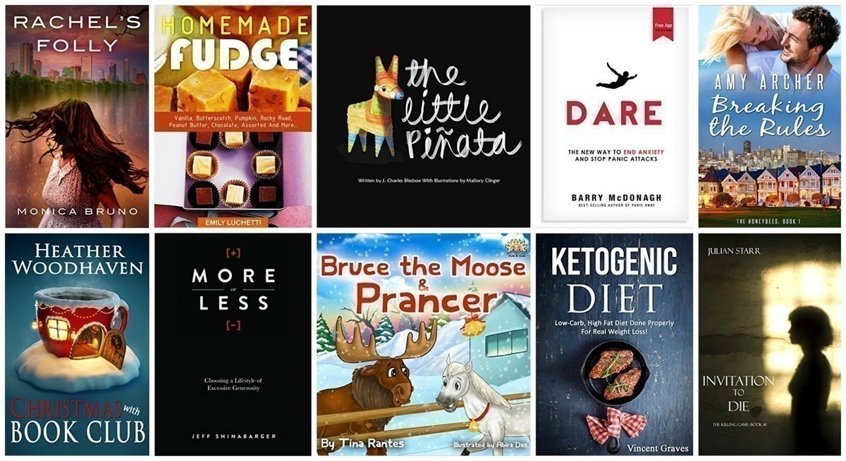 FREE Kindle Books | Homemade Fudge, More or Less, Ketogenic Diet & More