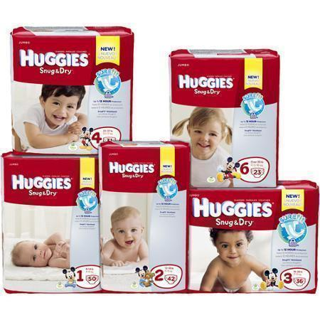 CVS: Last Day for Huggies Diapers just $4.49