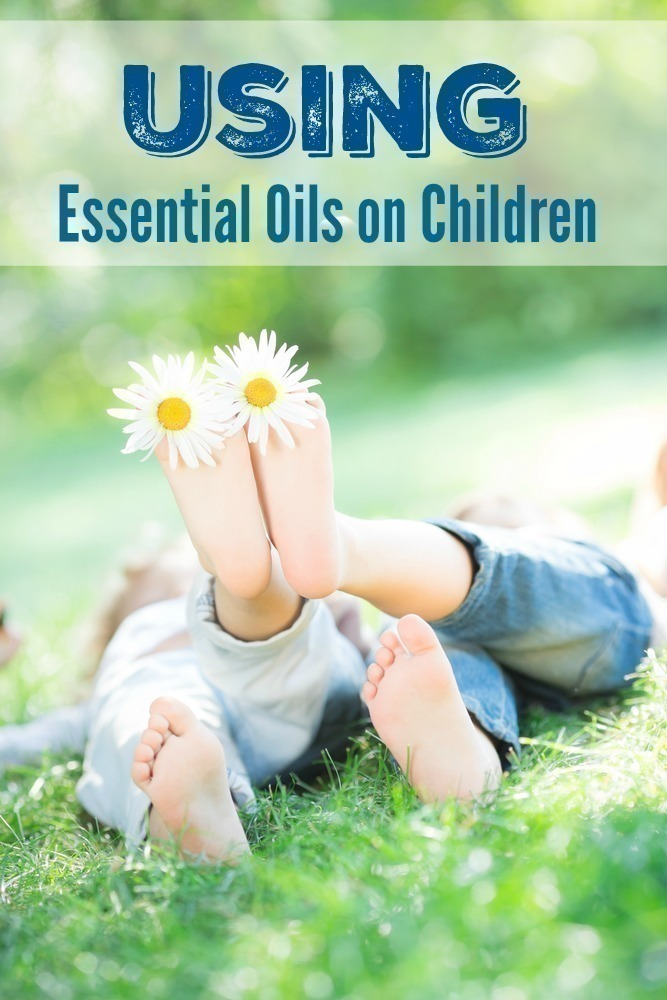 Using Essential Oils on Children