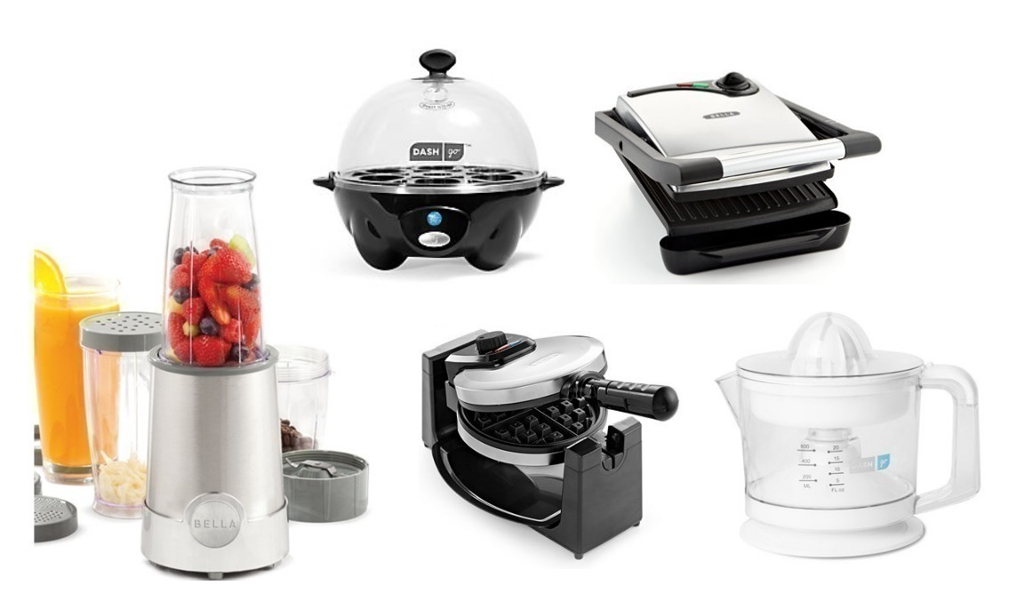 macy s has select small kitchen appliances on sale for