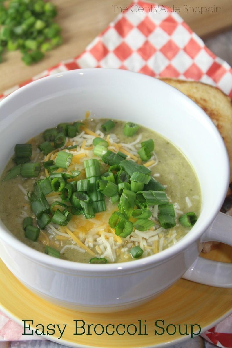 Easy Broccoli Soup Instant Pot