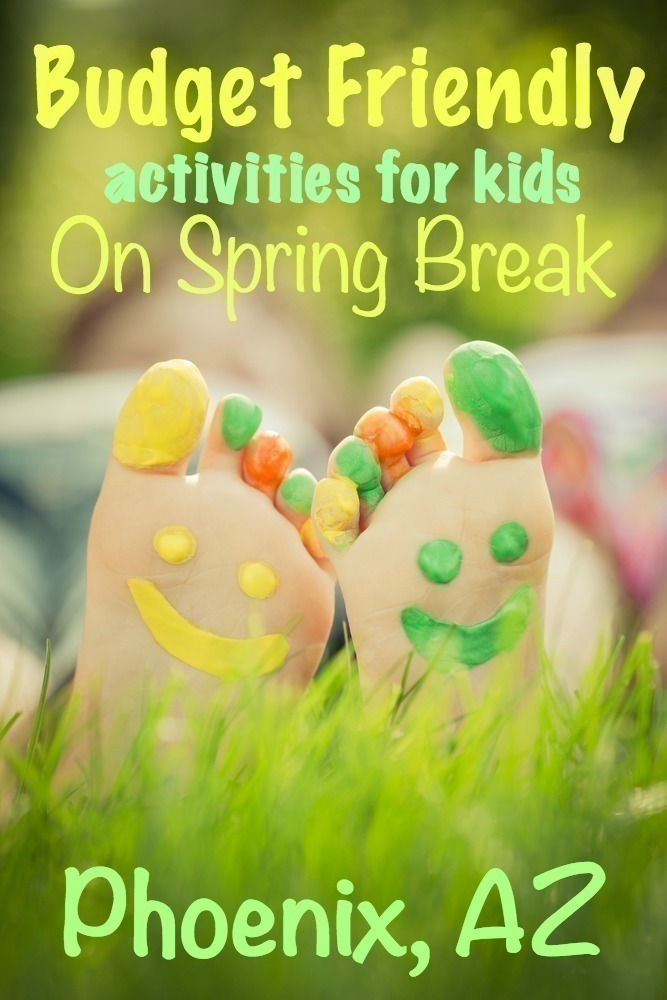 Budget Friendly Activities for Kids on Spring Break