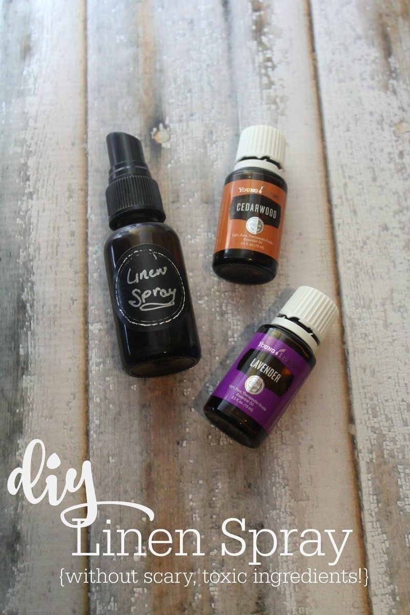 DIY Linen Spray {without Scary, Toxic Ingredients}