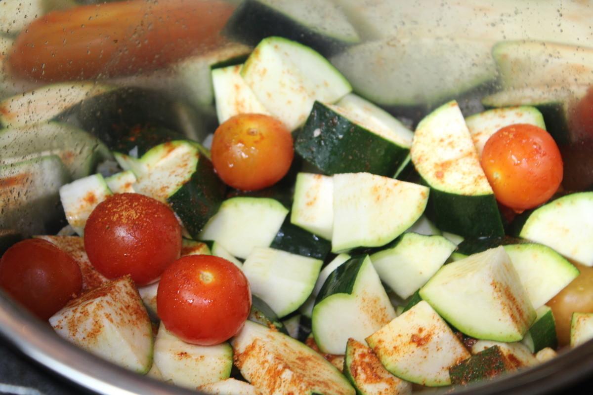 Zucchini & Tomato Mélange