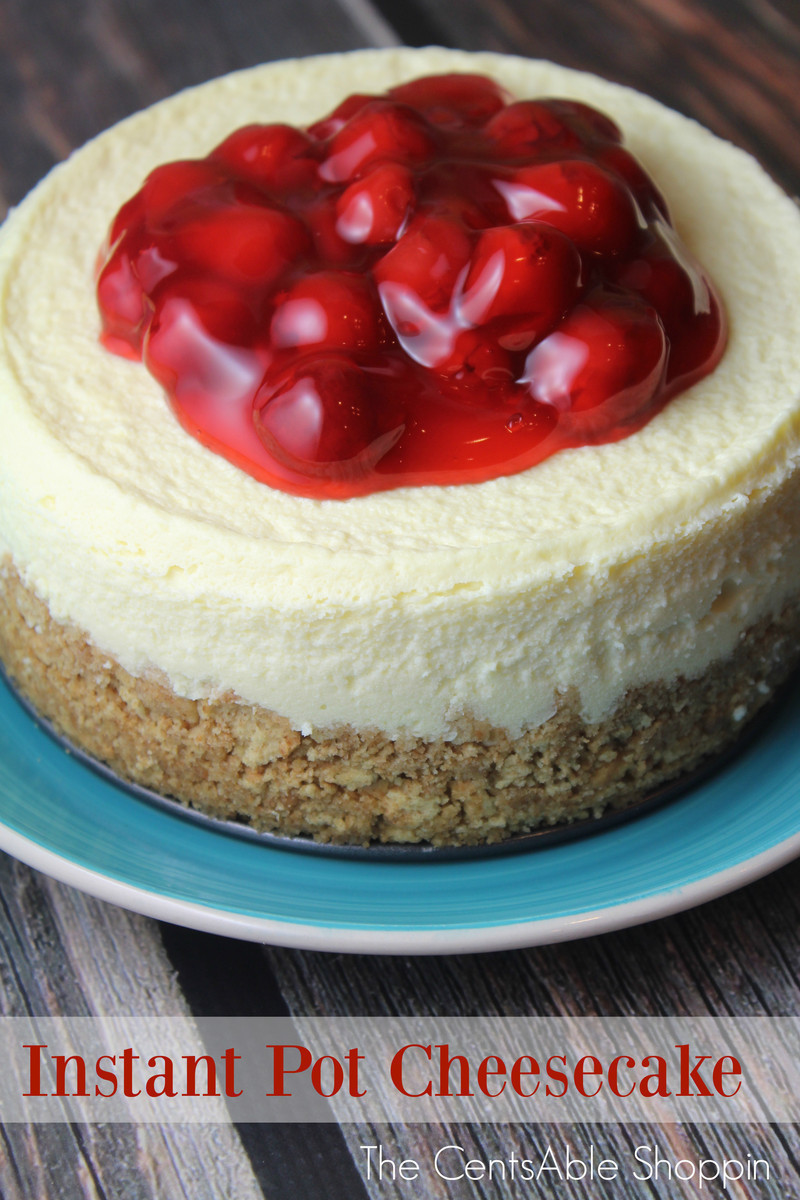 Delicious Cheesecake in the Instant Pot