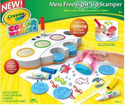 Amazon: Crayola Color Wonder Light Up Stamper $12