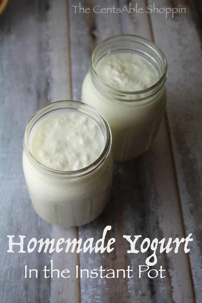 Homemade Yogurt in the Instant Pot
